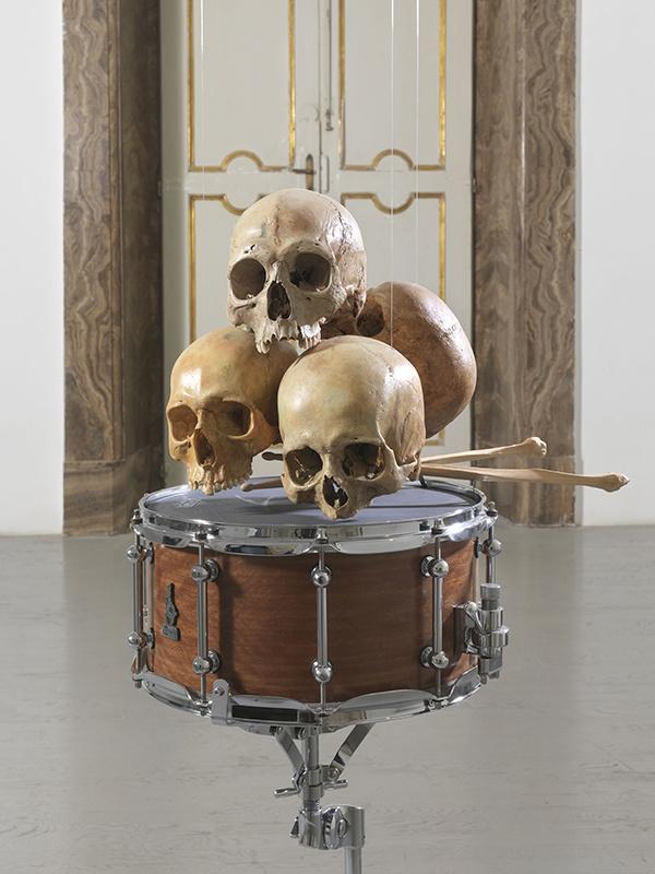 Drums skull 01
